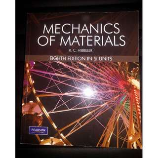 Mechanics Of Materials: 8th Edition