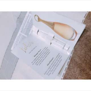 現貨 Dior J'adore香氛1ml