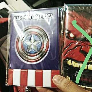 Capt. America Passport Holder