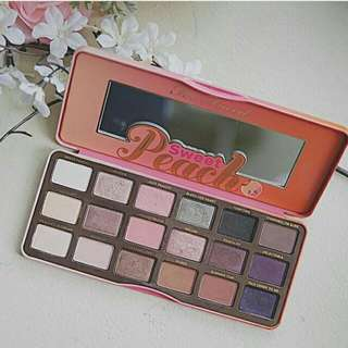 Too Faced Sweet Peach Eyeshadow Palette (Authentic)
