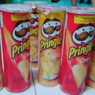Pringles Snack Keripik Kentang Berbagai Rasa