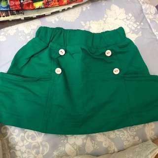 童裝 小短裙 5-15碼
