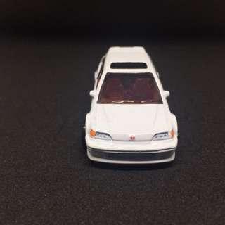 Hot Wheel Honda EF White
