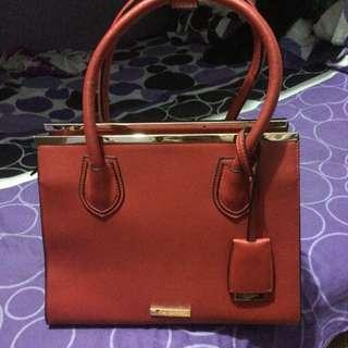 Red Handbag (Brand: DUNE)