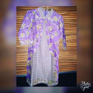 Batik Dress (purple)