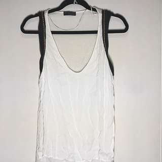 ZARA Chain Trim Top