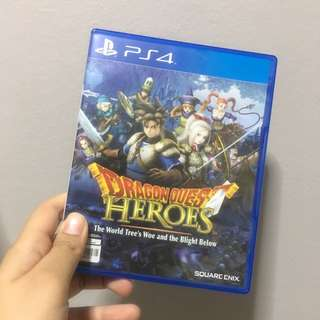 PS4 dragon quest heroes