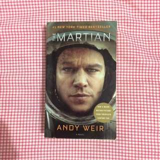 NOVEL INGGRIS (IMPOR) : The Martian by Andy Weir
