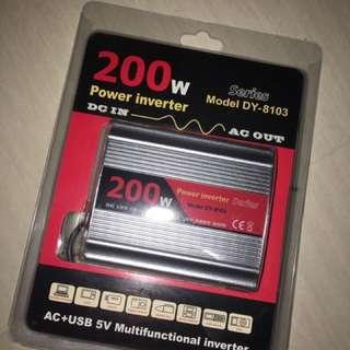 車用電源逆壓器(Dc > Ac 220V)