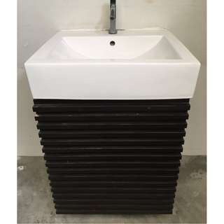 Sink with storage space