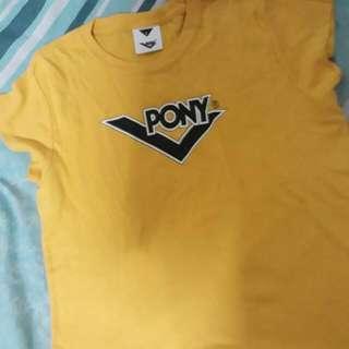 Pony Hanging Yellow Blouse