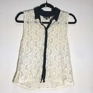 TOPSHOP Lace Top