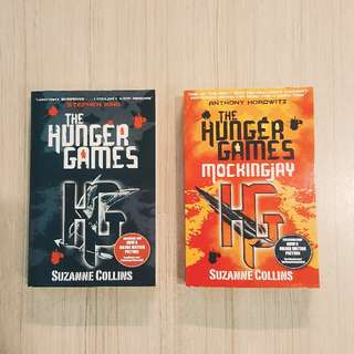 [brand new] the hunger games + mockingjay - suzanne collins