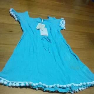 New Turquoise Dress From Monsoon For Girls