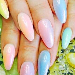 🚺 Mermaid Nail Powder