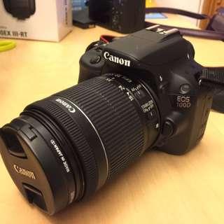 CANON EOS 100D kit set 行貨