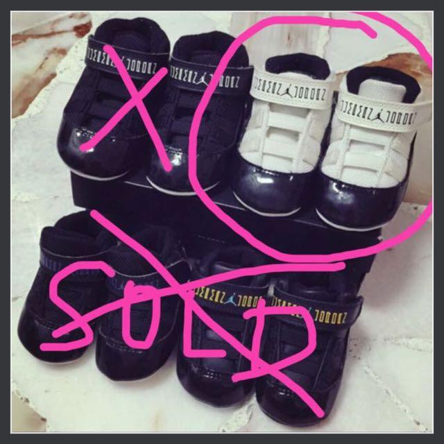 2cfcd244f6df 2 Pairs Baby Air Jordan Retro 11 Toddler Infant Shoe Gamma Blue ...