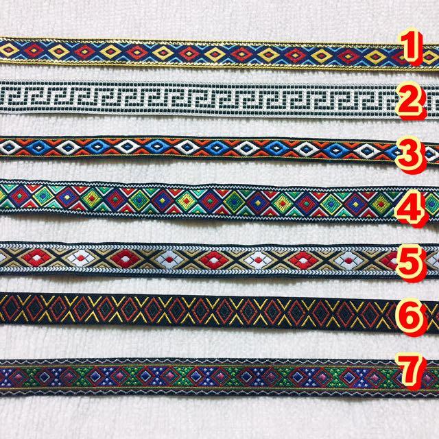 一條80/二條150🙌🏻手作民族風織帶頸鏈 #手作飾品 #民族風飾品 #圖騰風 #織帶