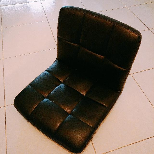 【限嘉義面交】黑色和室椅