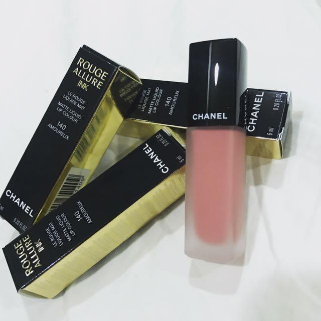 全新 Chanel #140 絲絨唇露👄
