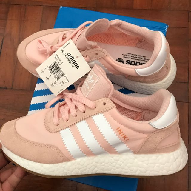 uk availability 9295d 6f65f Adidas Iniki Runner Shoes Salmon Pink, Women s Fashion, Shoes on ...