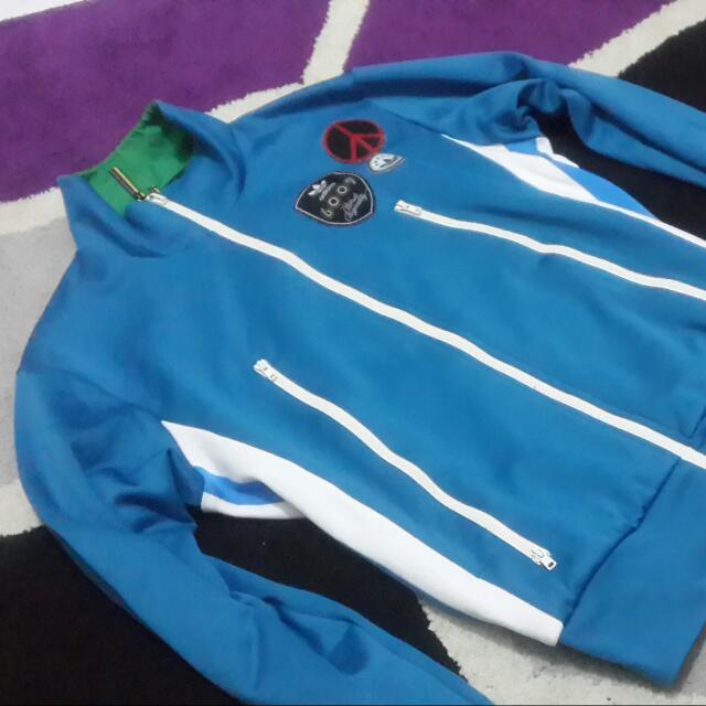 Adidas Jacket 2 blocked colour sz fit M