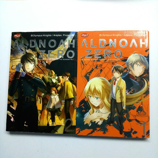 Aldnoah Zero VOL 1 & 2
