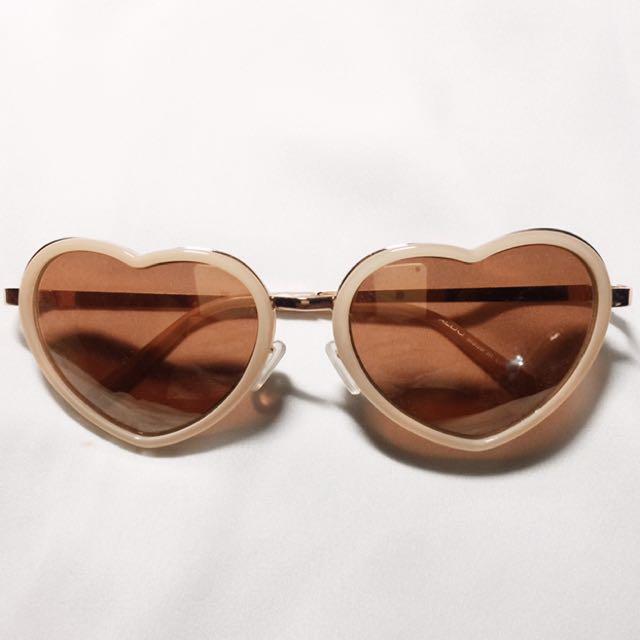 Aldo Heart Sunglasses