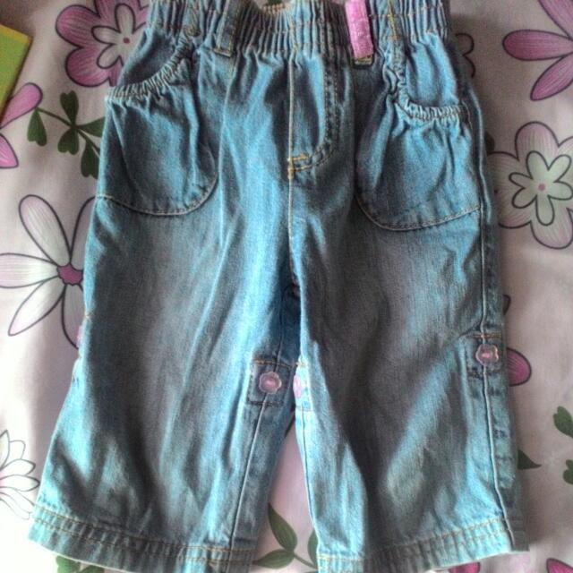 Baby Girls Jeans Pants