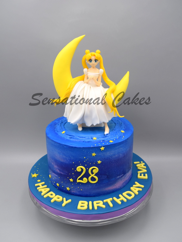 Back Track 90s On This Sailor Moon Cake Cake Singapore Best