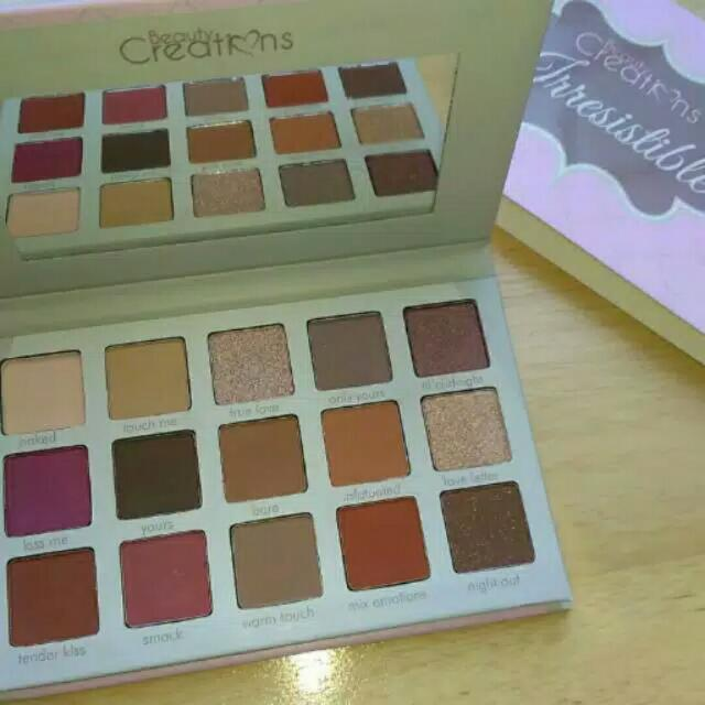 Beauty Creation Irresistible Palette