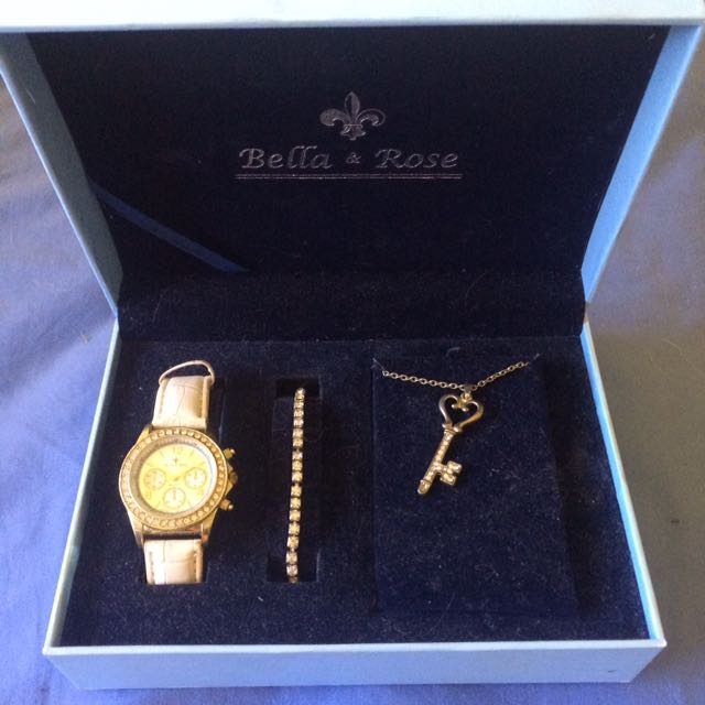 Bella And Rose Watch Set