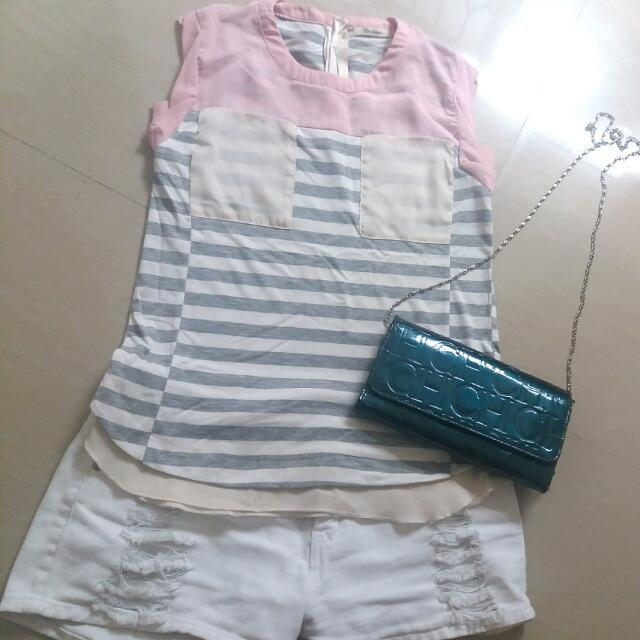 BNY sleeveless top