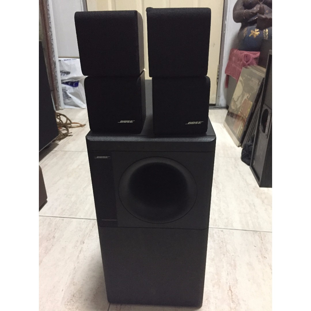 Bose Acoustimass 5 Series Ii Speaker System Electronics Audio On Wiring Carousell