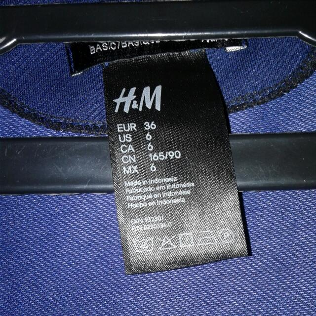 Cardigan H&M NAVY