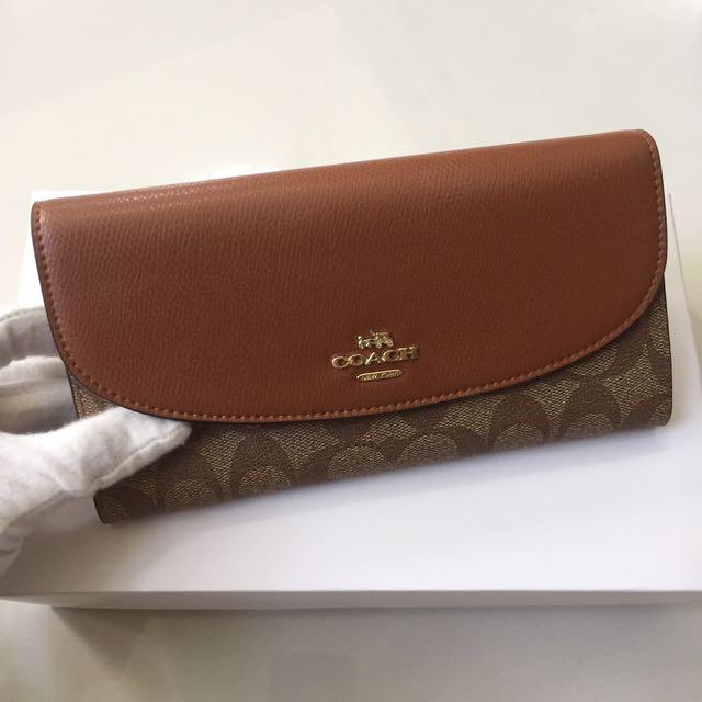 Coach PVC Wallet