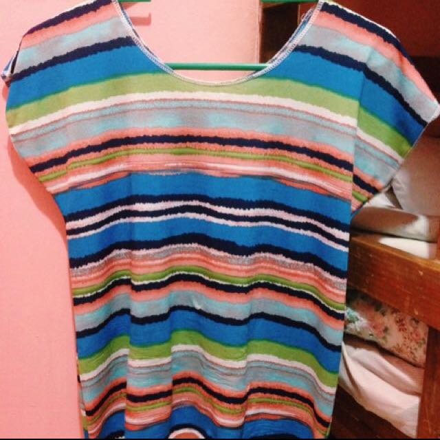 Colorful stripes Blouse