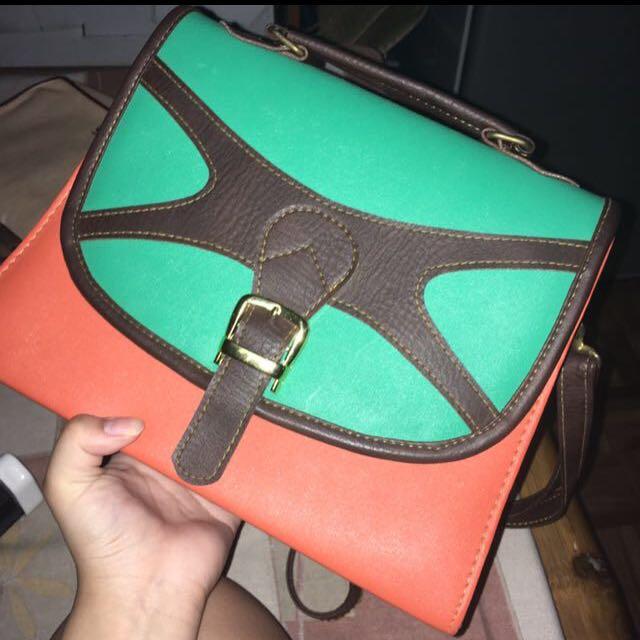 Copper Shoulder Bag