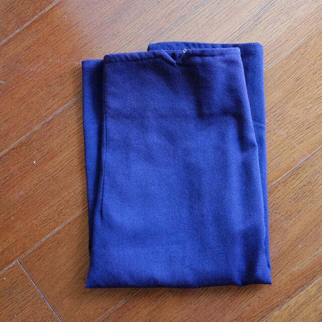 darkpurple skirt