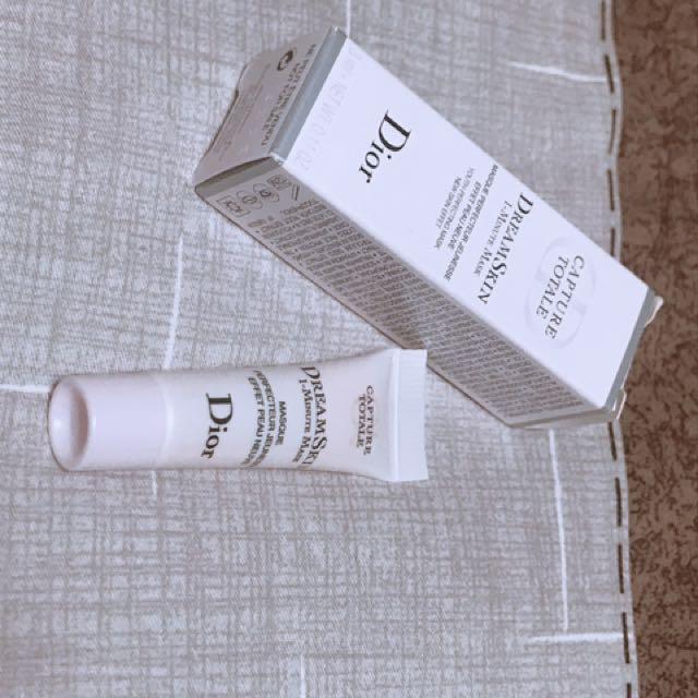 現貨 Dior夢幻美肌瞬效面膜3ml