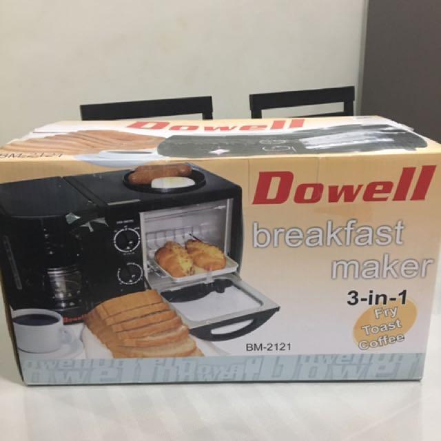 Dowell 3in1 Breakfast Maker