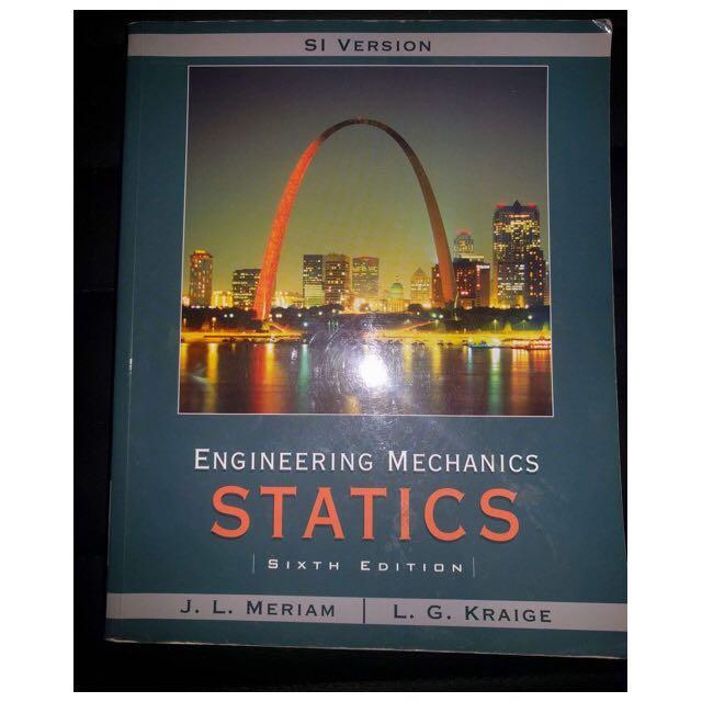 Engineering Mechanics Statics: Sixth Edition