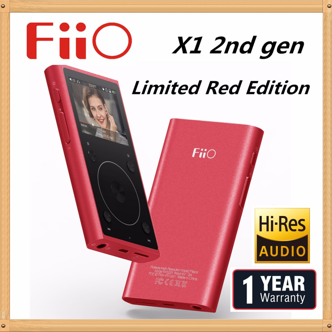 FiiO X1 2nd Gen mp3 Player - High Resolution Lossless