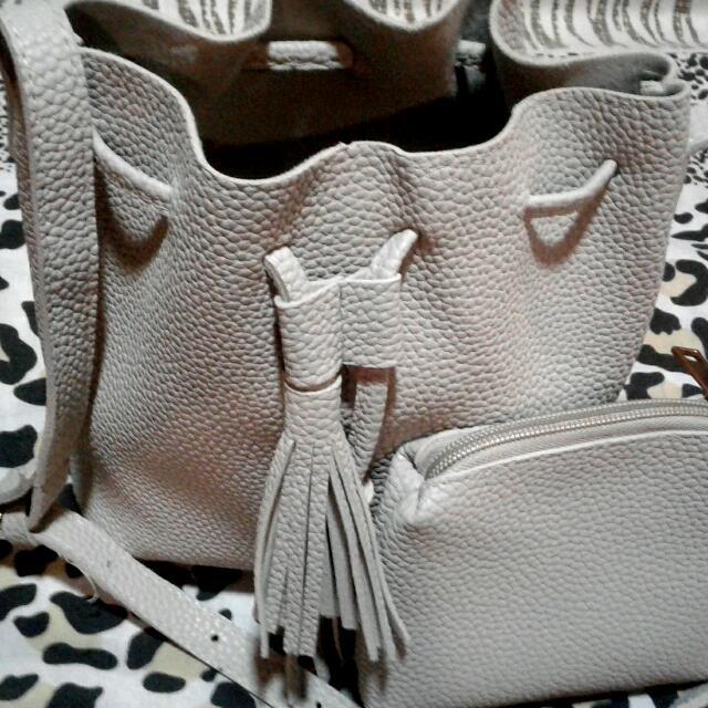 Folded & Hung Shoulder/Sling Bag