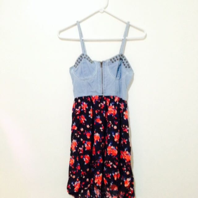 Forever 21 Bustier High-low Dress