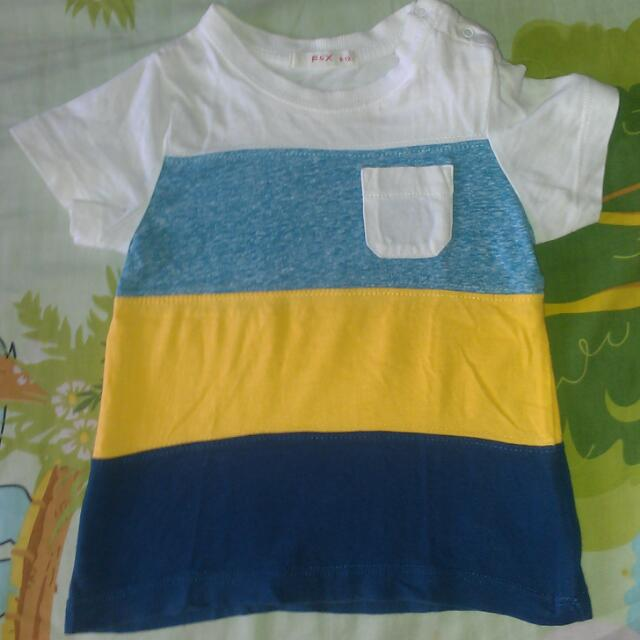 F&X Shirt 6-12 Mos