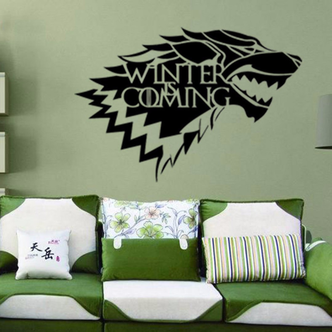 Game Of Thrones Diy Wall Decor Wall Decal Wall Sticker