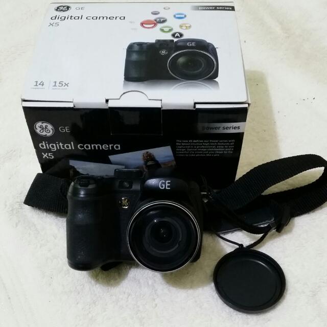 GE X5 Digital Cam