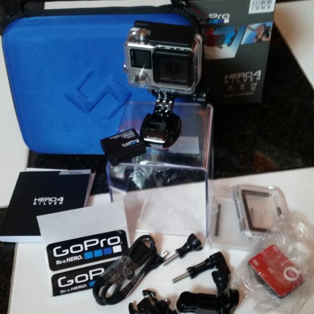 GoPro HERO4 Silver w/ Smartree Case And Aquapod