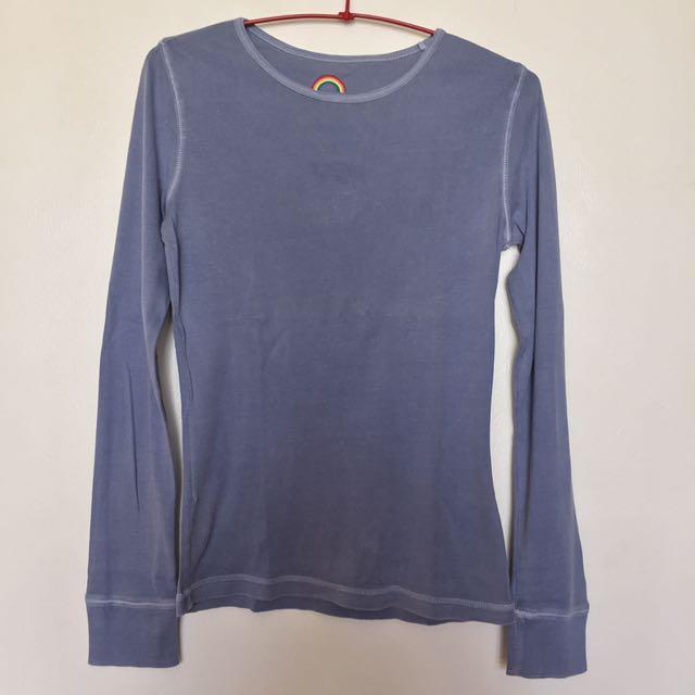 Grayish Blue Sweater